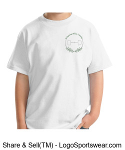 Gildan Youth Ultra Cotton T-shirt- Printed Design Zoom